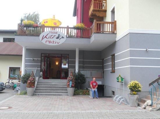 Sporthotel Kitz: ingresso