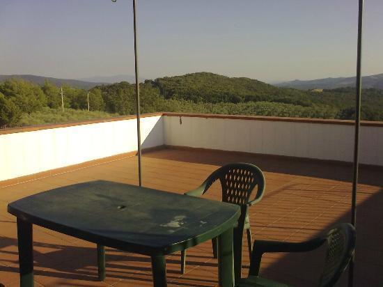 Campopalazzi Residenz: terrazzo