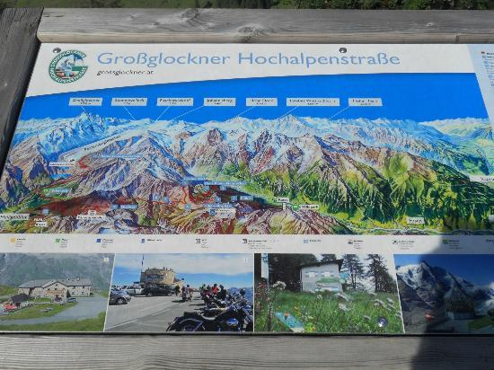 Sporthotel Kitz : cartina ingresso grossglock.