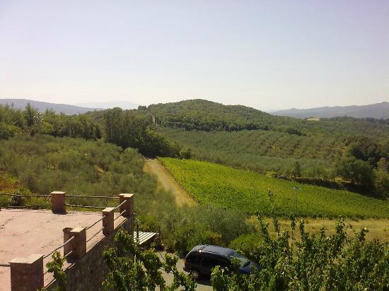 Campopalazzi Residenz: vista panoramica
