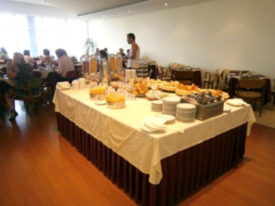 Luna Esperança Centro: La sala per la prima colazione