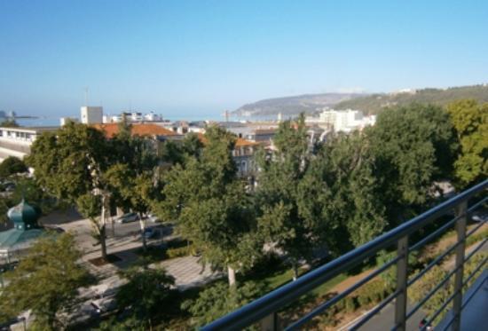 Luna Esperança Centro: Vista dalla terrazza del 5° piano