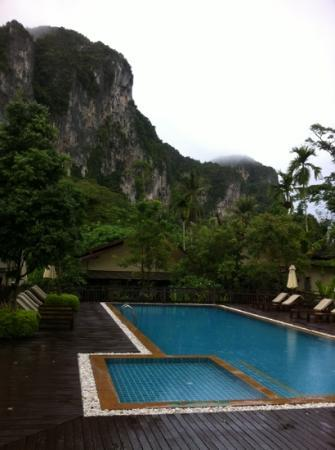 Aonang Villa Resort: view from breakfast table