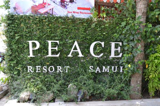 Peace Resort: Outside the hotel