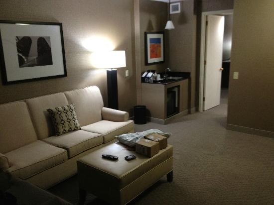 Sheraton Chicago O'Hare Hotel: Separate Living Area