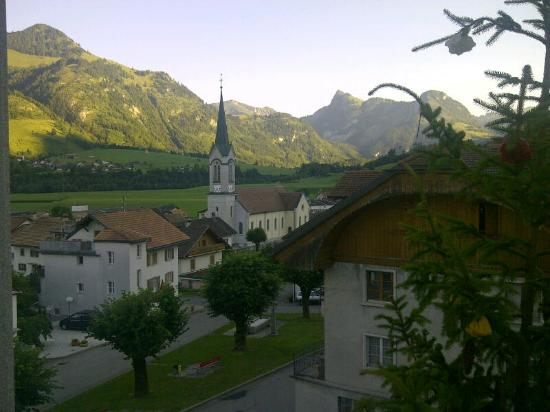 Albeuve, Ελβετία: Vue de la chambre