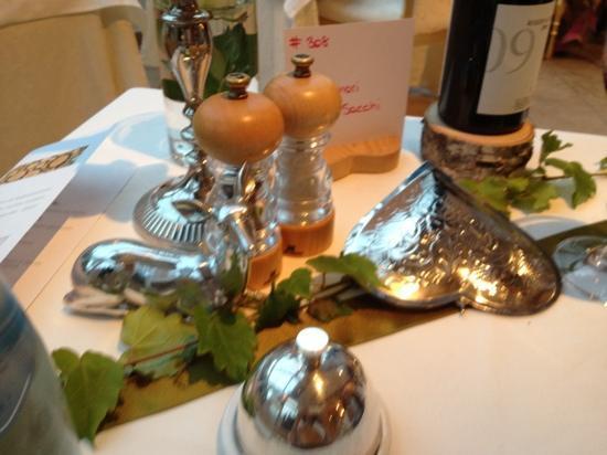 Alpin Garden Wellness Resort - Adults Only: il nostro tavolo