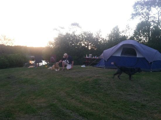 Mainayr Campground: Campsite
