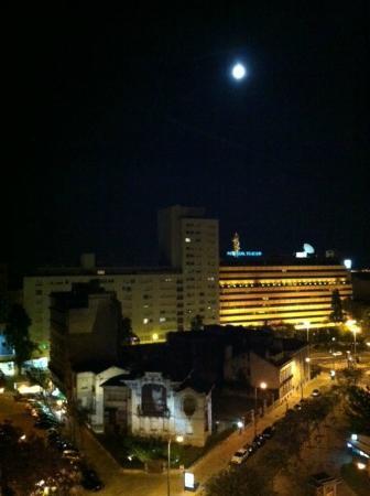Zenit Lisboa: View from top floor suite