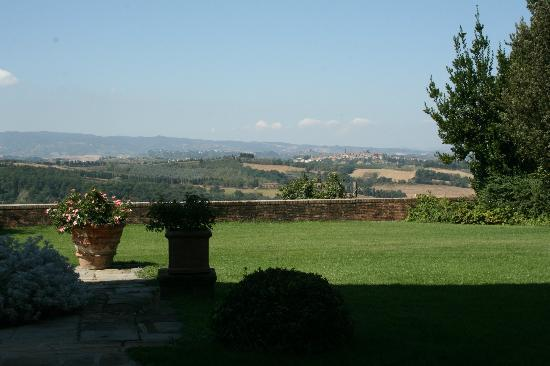 Pratello Country Resort: view from the terrace