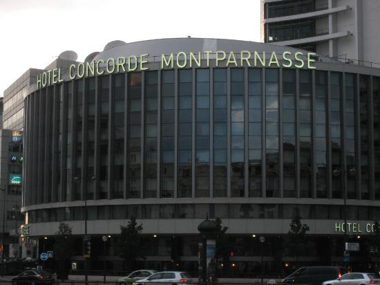 La chambre 546 picture of hotel concorde montparnasse for Ideal hotel montparnasse