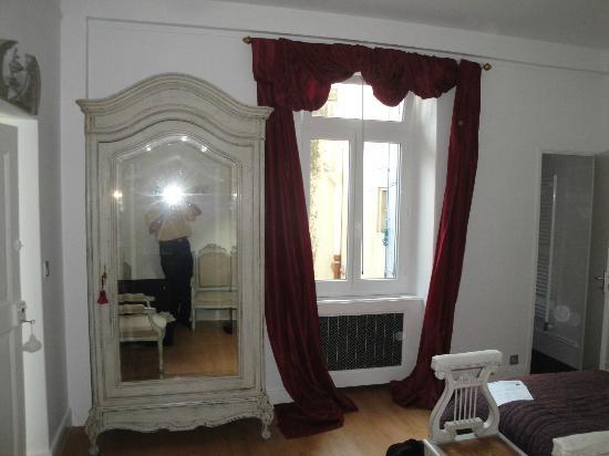 Chambre d'hotes l'Albinque: Habitación