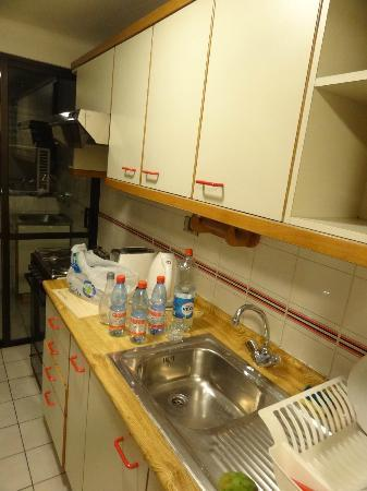Presidente Edificio Santiago: cozinha