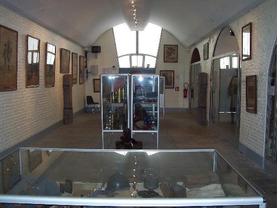Fort de Leveau: Ancien magasin d'artillerie