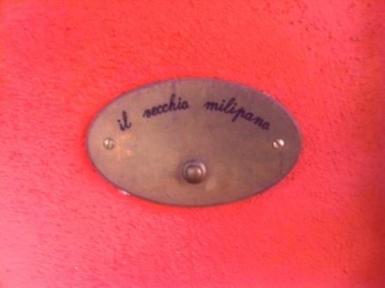 Agriturismo Il Vecchio Milipano: Benvenuti !! :))) trop chou la déco !