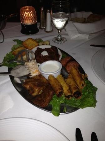 El Novillo Restaurant: Sampler Platter