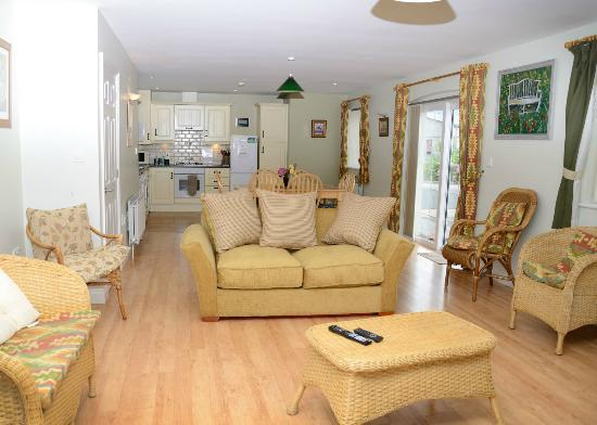 Ballycanal Self Catering: Spacious open plan living area