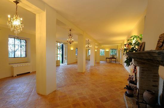 Villa Forasiepi : salone