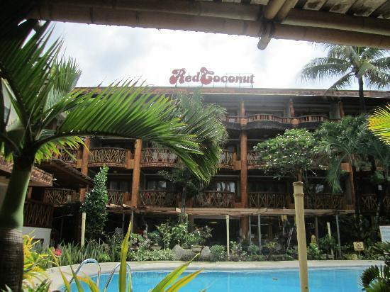 Red Coconut Beach Hotel: View from dining area