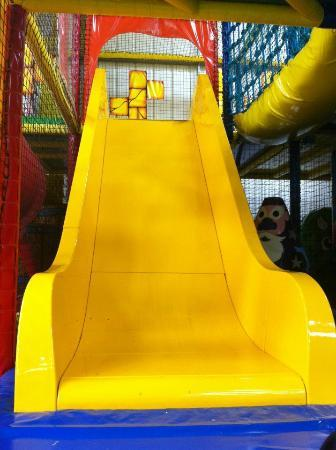 Castle Mania Indoor Adventure Play: One of our 3 slides