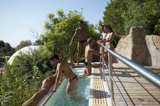 Parco acquatico Le Caravelle : la sorgente del kuore , area benessere nel parco le caravelle!
