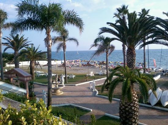 Hotel Il Tempio: Vista spiaggia