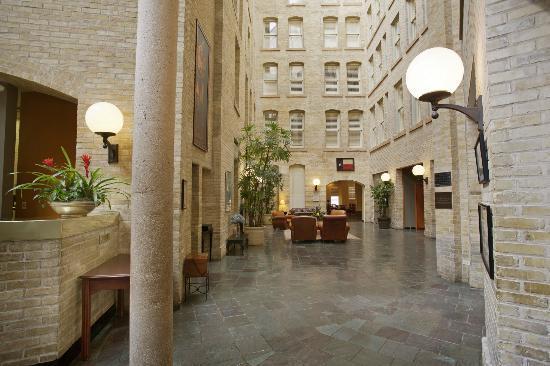 Crockett Hotel Atrium