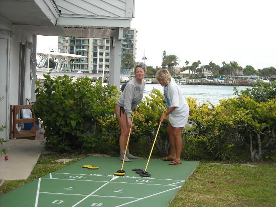 Five Palms Condominium Resort: Playing shuffle board