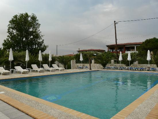 Hotel Stefani: The pool of the hotel