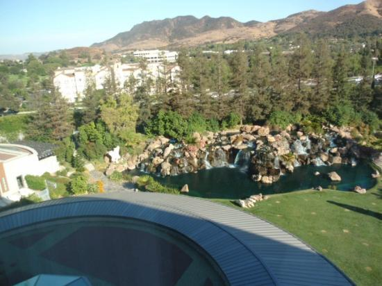 Four Seasons Hotel Westlake Village Facing South View From Our Room