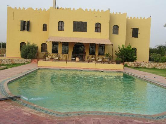 Riad Le Ksar de Fes : vue du côté piscine