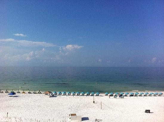 Best Western Ft. Walton Beachfront: The View from my Room