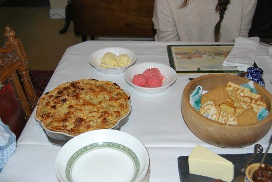 Bay Tree Farm: Foto de una de las tartas que preparó Val en nuestra estancia.