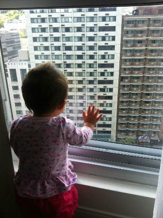 Delta Hotels by Marriott Montreal: bub enjoying the view
