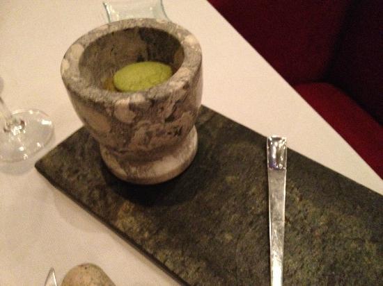 Restaurante Messina: pesto bij eend
