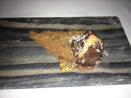 Restaurante Messina: chocoladevulkaan