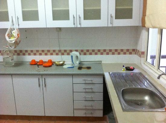 Ancasa Resort AllSuites: old kitchen