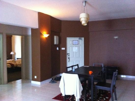 Ancasa Resort AllSuites: under maintained room