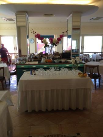 Finale Ligure, Italie : sala da pranzo