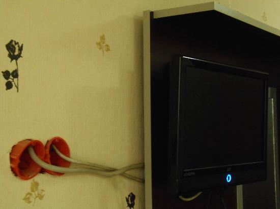 Asmin Hotel : How to connect a TV...