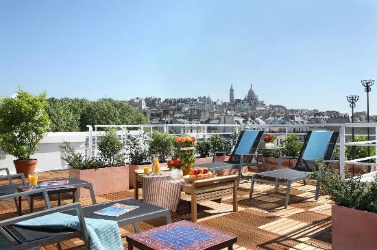 Citadines Montmartre Paris Frankrig Hotel