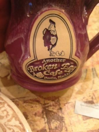 Another Broken Egg Cafe On: cute coffee mug!
