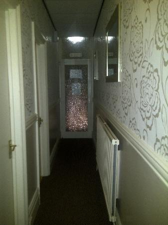 Manchester House: the hallway