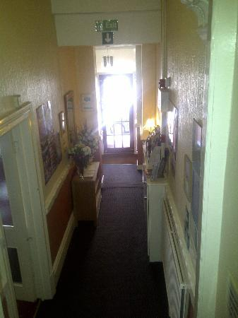 Manchester House: entrance hallway
