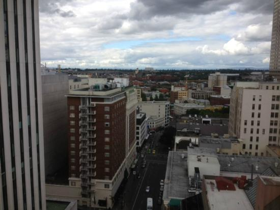 Portland Marriott City Center: view from room