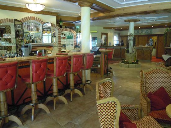 Hotel Castello Falkner: bar hotel