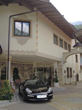 Hotel Castello Falkner : ingresso principale