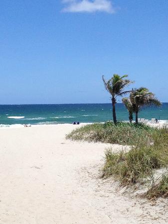 The Seagate Hotel & Spa: Beach View