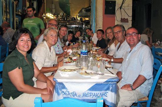Tembel Club at Taverna Meraklis.