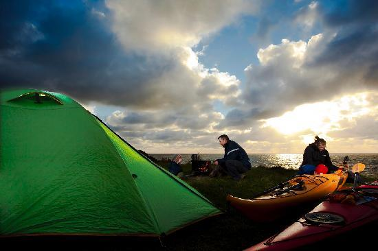 Cape Breton Adası, Kanada: Camping - Cape Breton Highlands National Park